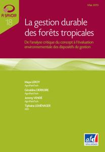 Livre-altermanagement-gestion durable des forêts